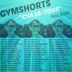 gymshorts tour!