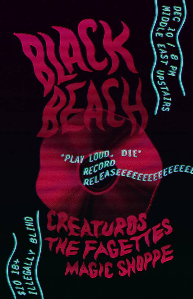 Show Review: Creaturos, Black Beach, The Fagettes, Magic Shoppe @ Middle East Upstairs (12/11/14)