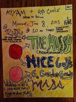 Hussy flyer