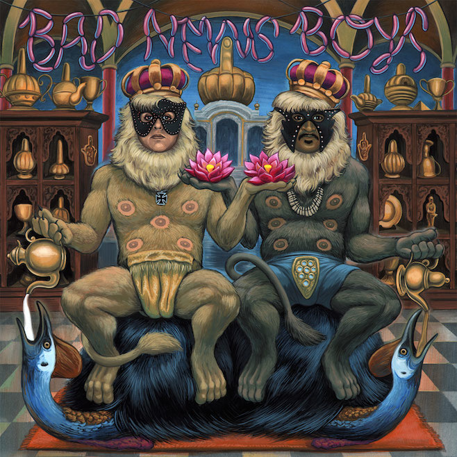 "The King Khan & BBQ Show – Bad News Boys/""Alone Again"""