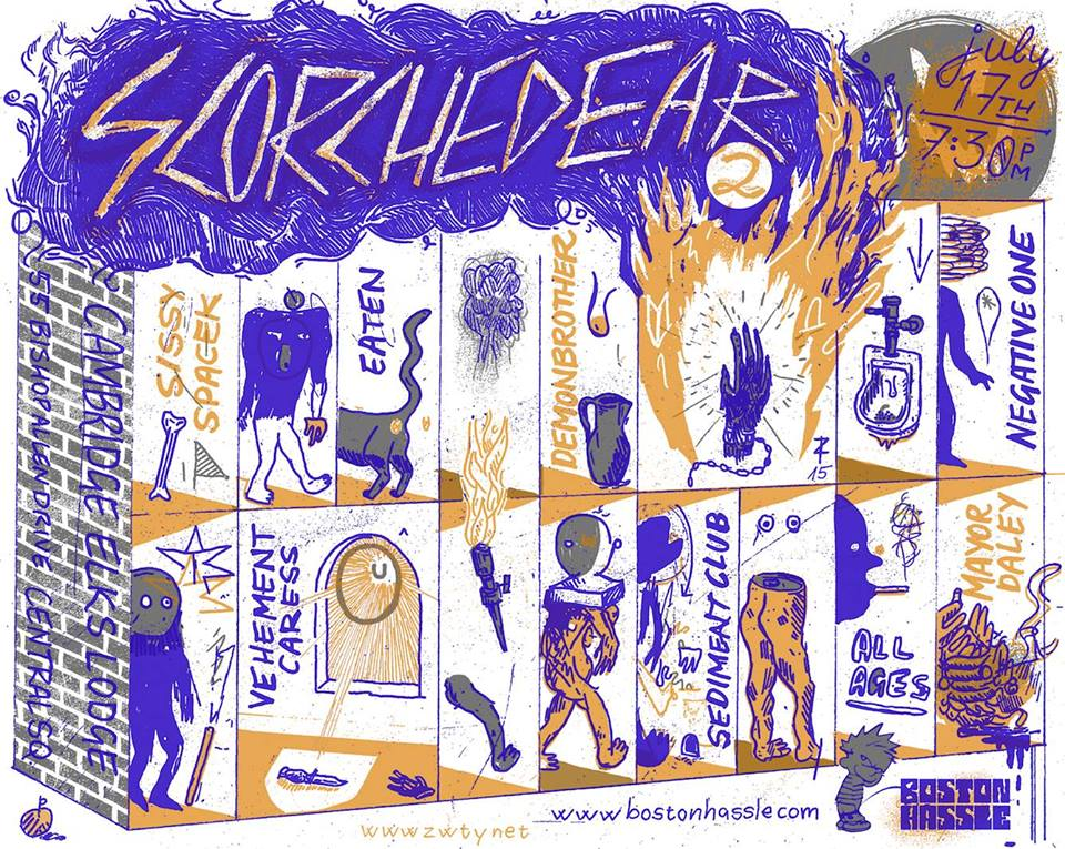 Review: Scorched Ear 2 @ Cambridge Elks (7/17/15)