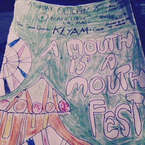 A KLYAMMER'S GUIDE TO A MOUTH'S A MOUTH FEST PT. 2 (Sat. 10/8/15, Black Lodge)
